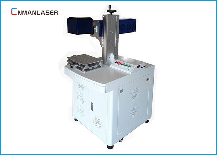 Wood Bamboo Leather 20w CO2 Laser Marking Machine With Laser Beam Galvo Scanner