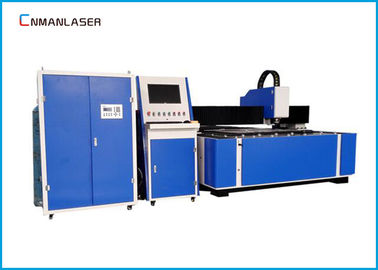 1200W Big Power Fiber Laser Cutting Machine , Aluminum Steel Metal Laser Cutter